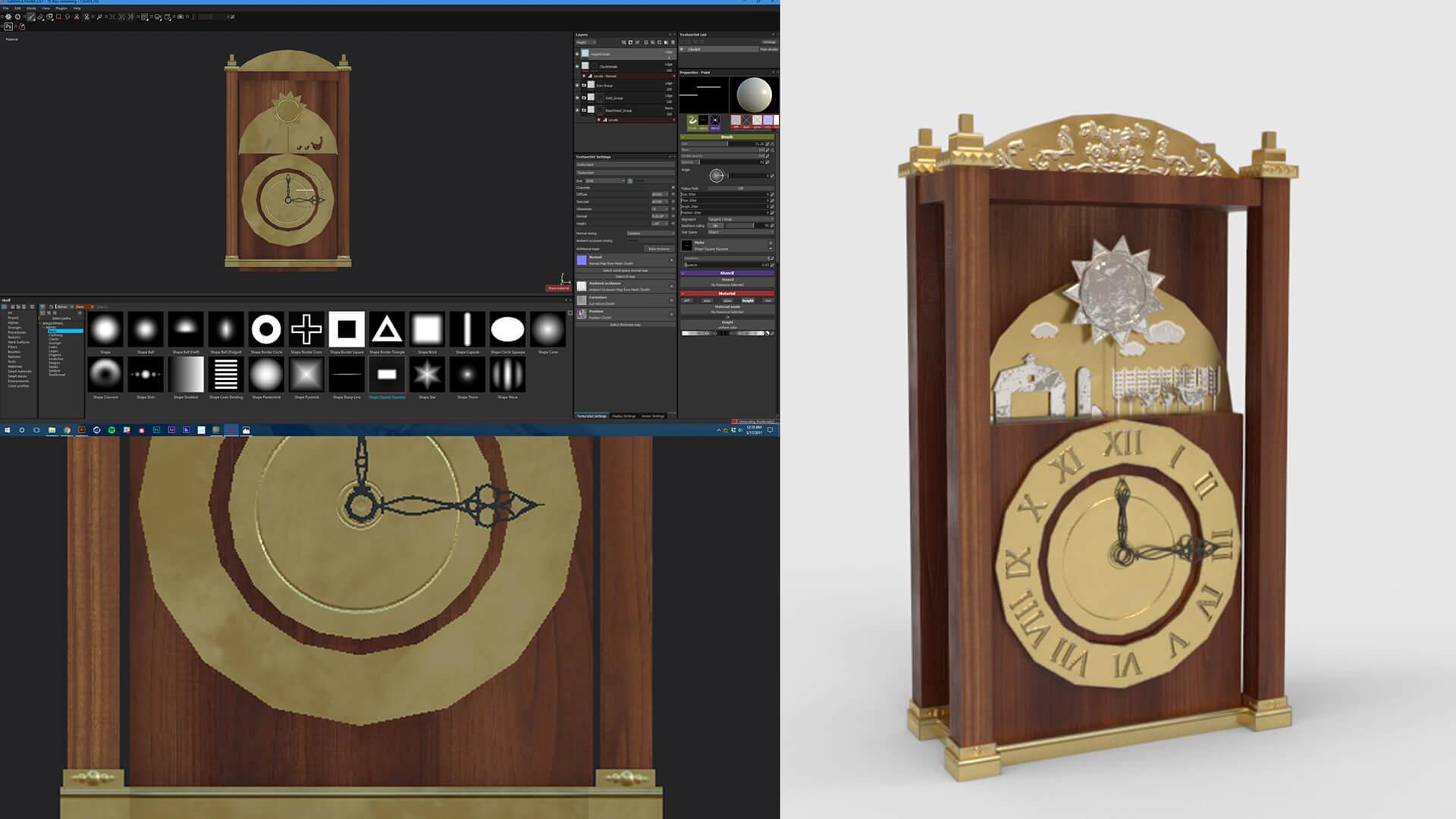 ClockH_Setup